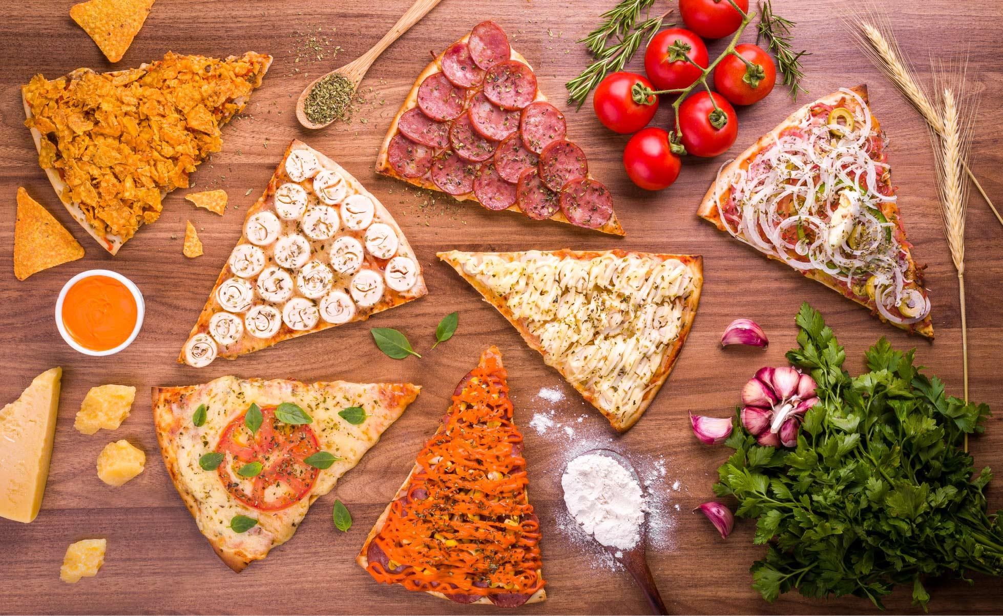 Dom Bertolin Fatias de Pizza